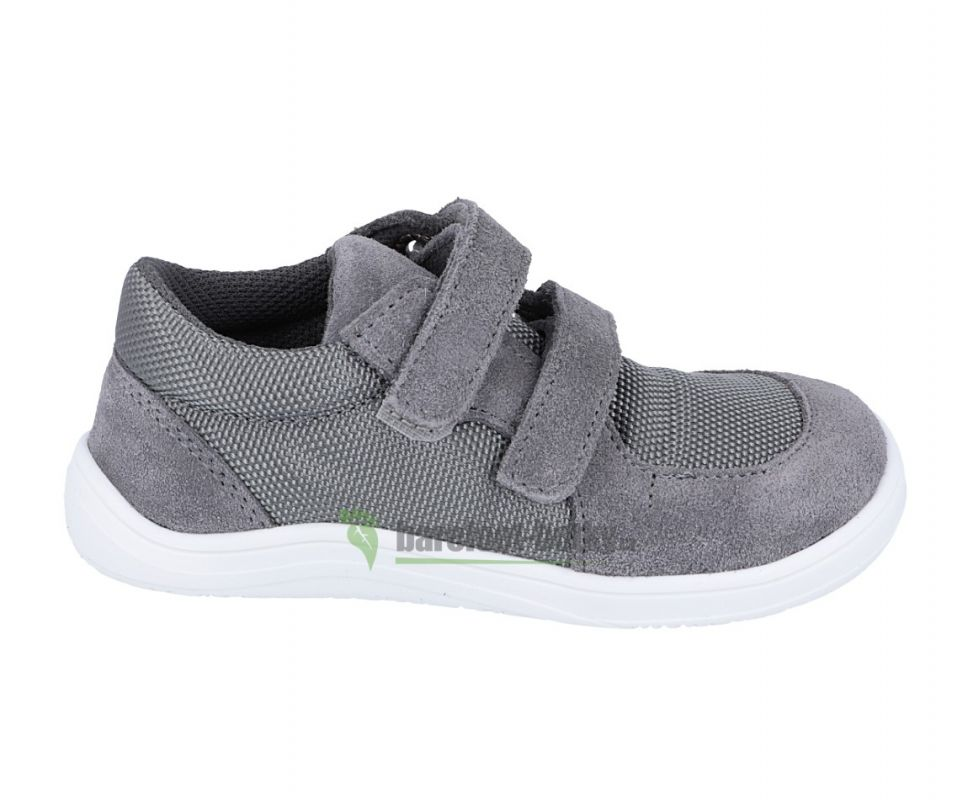 Barefoot Baby bare shoes Febo sneakers grey bosá