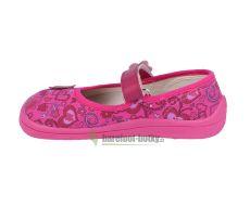 Barefoot Beda barefoot balerínky růžové bosá