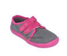 Barefoot Beda barefoot tenisky Sofie - suchý zip bosá