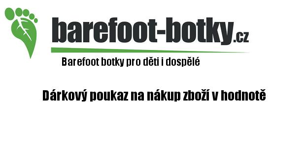 Barefoot Dárkový poukaz bosá