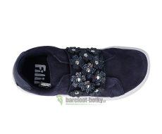 Filii barefoot Relax velcro velours navy M