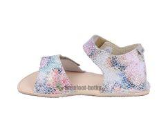 Barefoot Ortoplus barefoot sandálky D203 G květinové bosá