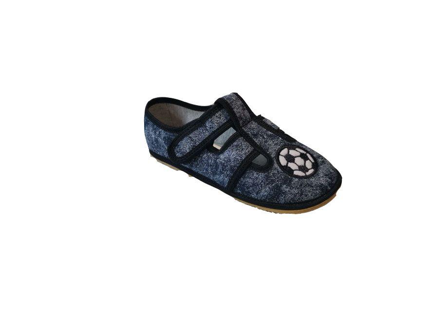 Barefoot Anatomic papučky SOCCER grey B bosá
