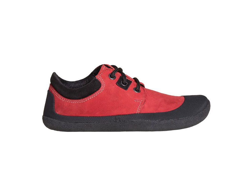 Barefoot Barefoot boty Sole runner Pan SPS Red bosá