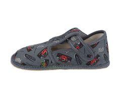 Barefoot Beda barefoot - užší bačkorky suchý zip - formule bosá