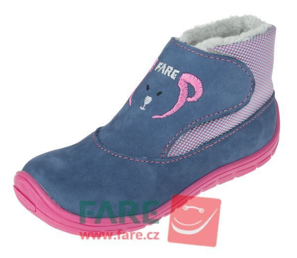 Barefoot FARE BARE dětské zimní boty 5144251 bosá