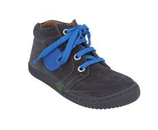Barefoot Filii barefoot - Gecko velours graphit laces M bosá