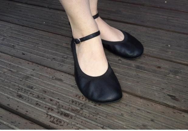 Barefoot Pathik shoes baleríny Amelíny 19 černé bosá