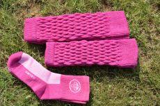Surtex návleky - růžové
