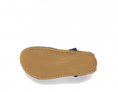 Barefoot Vivobarefoot ABABA K Sandal Leather Navy bosá