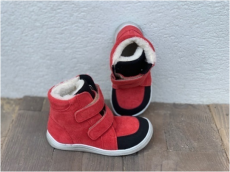 BABY BARE WINTER red velur OKOP ASFALTICO