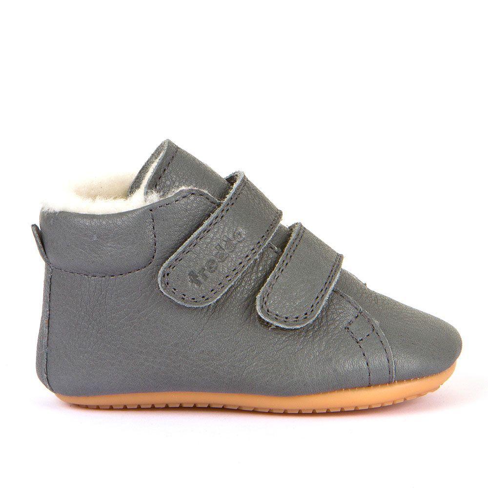Barefoot Barefoot boty Froddo Prewalkers zimní grey sheepskin bosá