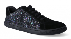 Barefoot Barefoot tenisky Filii - ADULT SNEAKERS PRINCESS Velours Black bosá