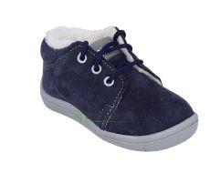 Barefoot Beda Barefoot - Lucas - zimní boty s membránou-tkaničky bosá
