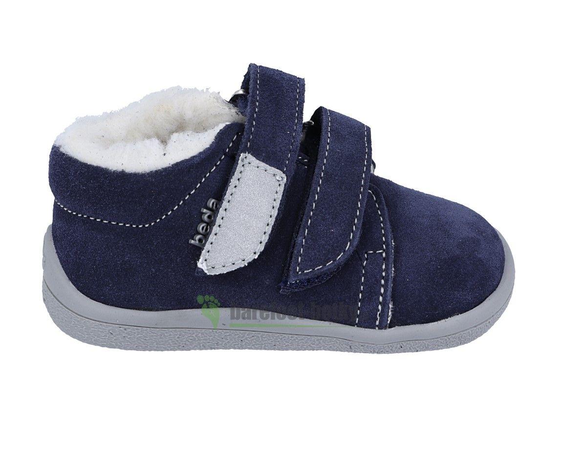 Barefoot Beda Barefoot Lukas zimní boty s membránou bosá