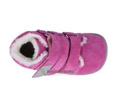 Barefoot Beda Barefoot - Rebecca - zimní boty s membránou bosá