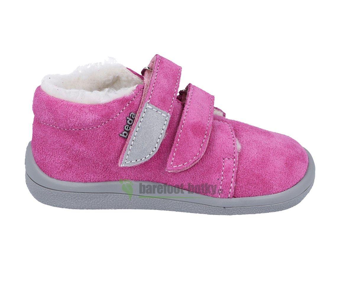 Barefoot Beda Barefoot - Rebecca zimní boty s membránou bosá