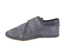 Barefoot Ef barefoot papučky šedé - uzavřené bosá