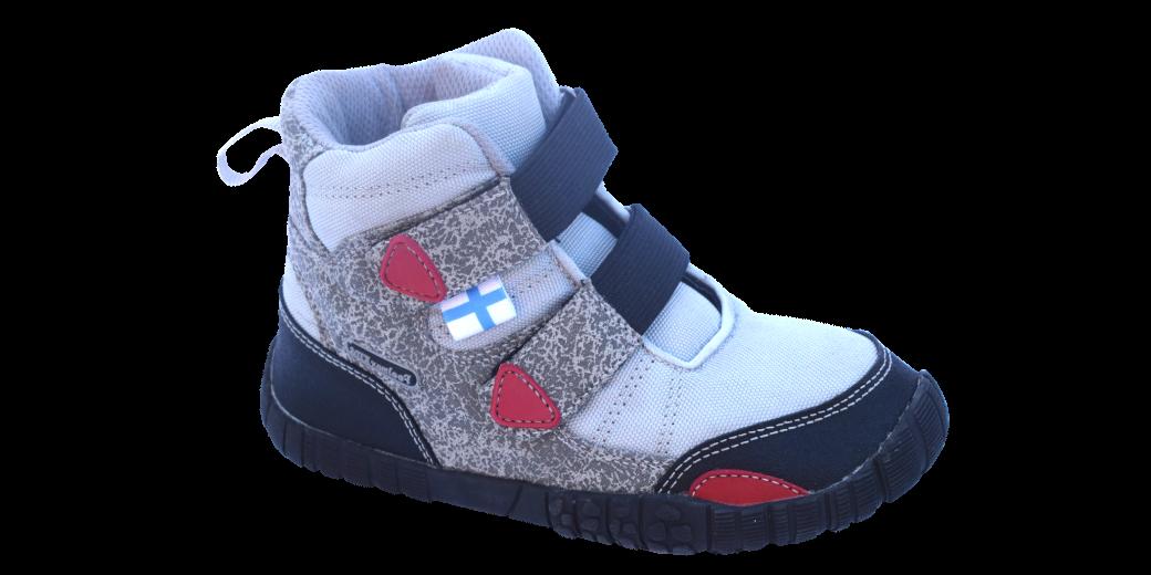 Barefoot Feelmax Naapa grey - zimní, dětské boty bosá