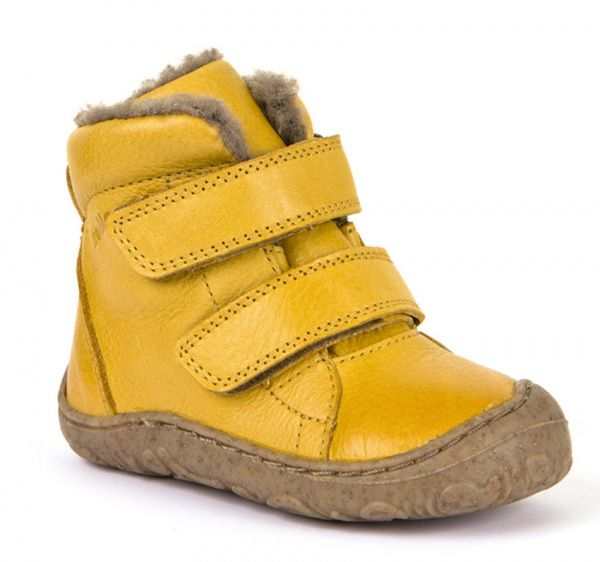 Barefoot Froddo extra flexible winter boots yellow bosá