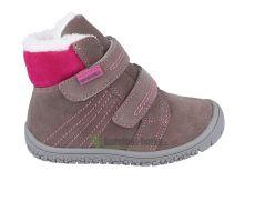 Protetika zimní barefoot boty Artik grey
