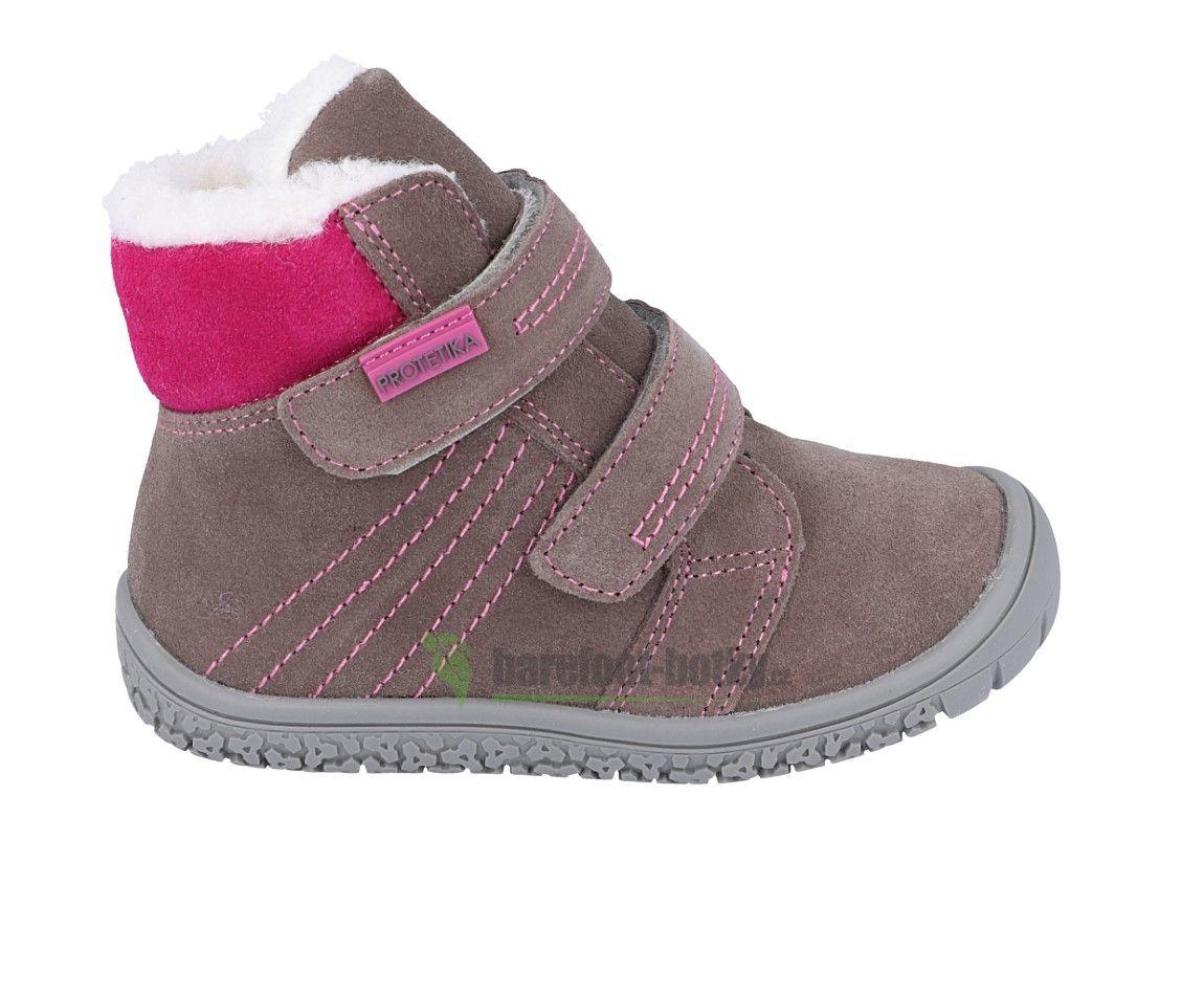 Barefoot Protetika zimní barefoot boty Artik grey bosá