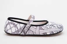 Ahinsa shoes Balerínka Ananda  Zentangle