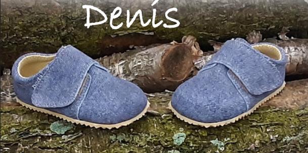 Barefoot Beda barefoot - KOŽENÉ CAPÁČKY Denis - 1 suchý zip bosá