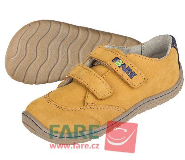 Barefoot FARE BARE DĚTSKÉ CELOROČNÍ BOTY 5114281 bosá