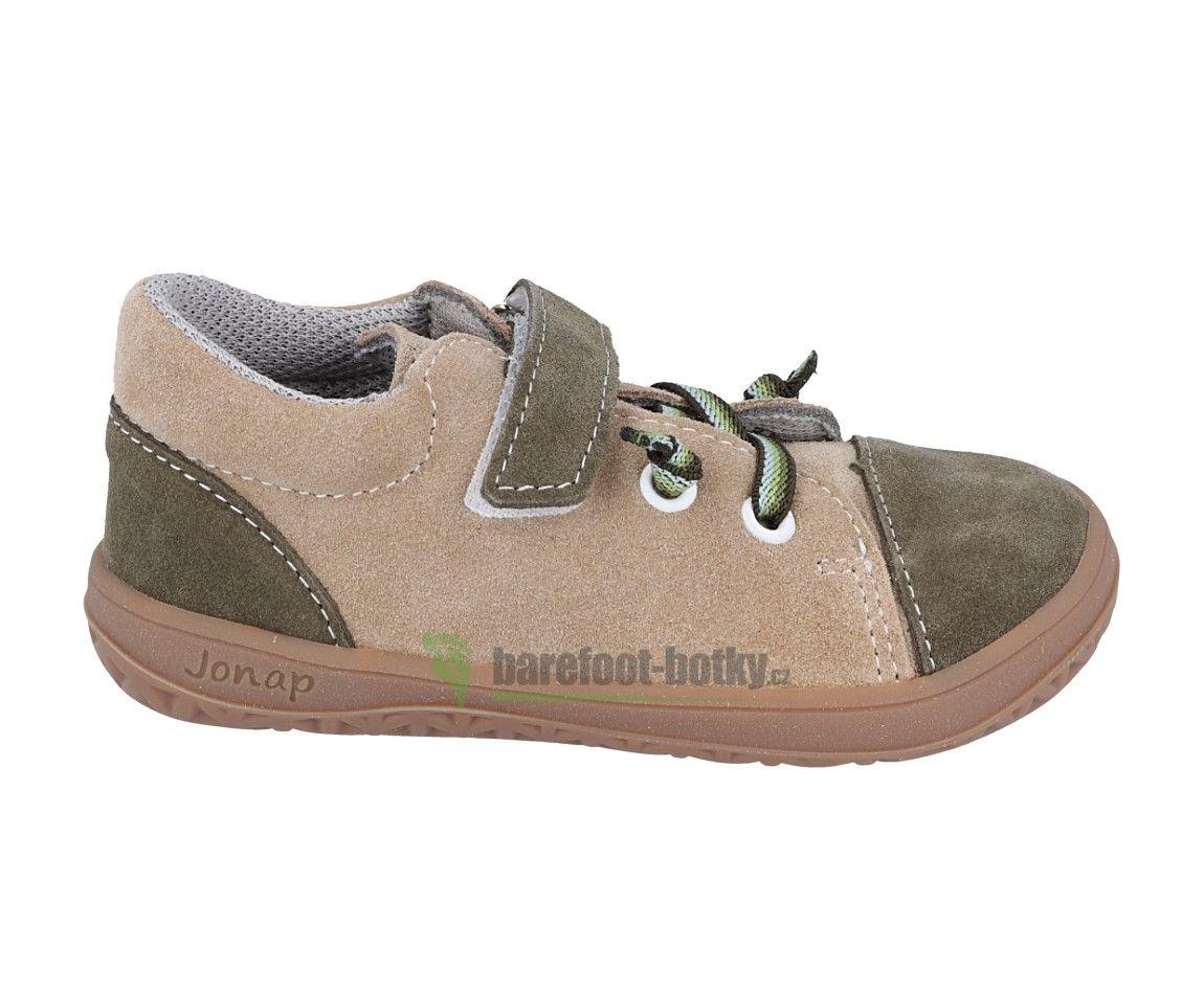 Barefoot Jonap barefoot B12SV béžová/khaki bosá