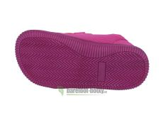 Barefoot Protetika Alix fuxia - textilní tenisky bosá