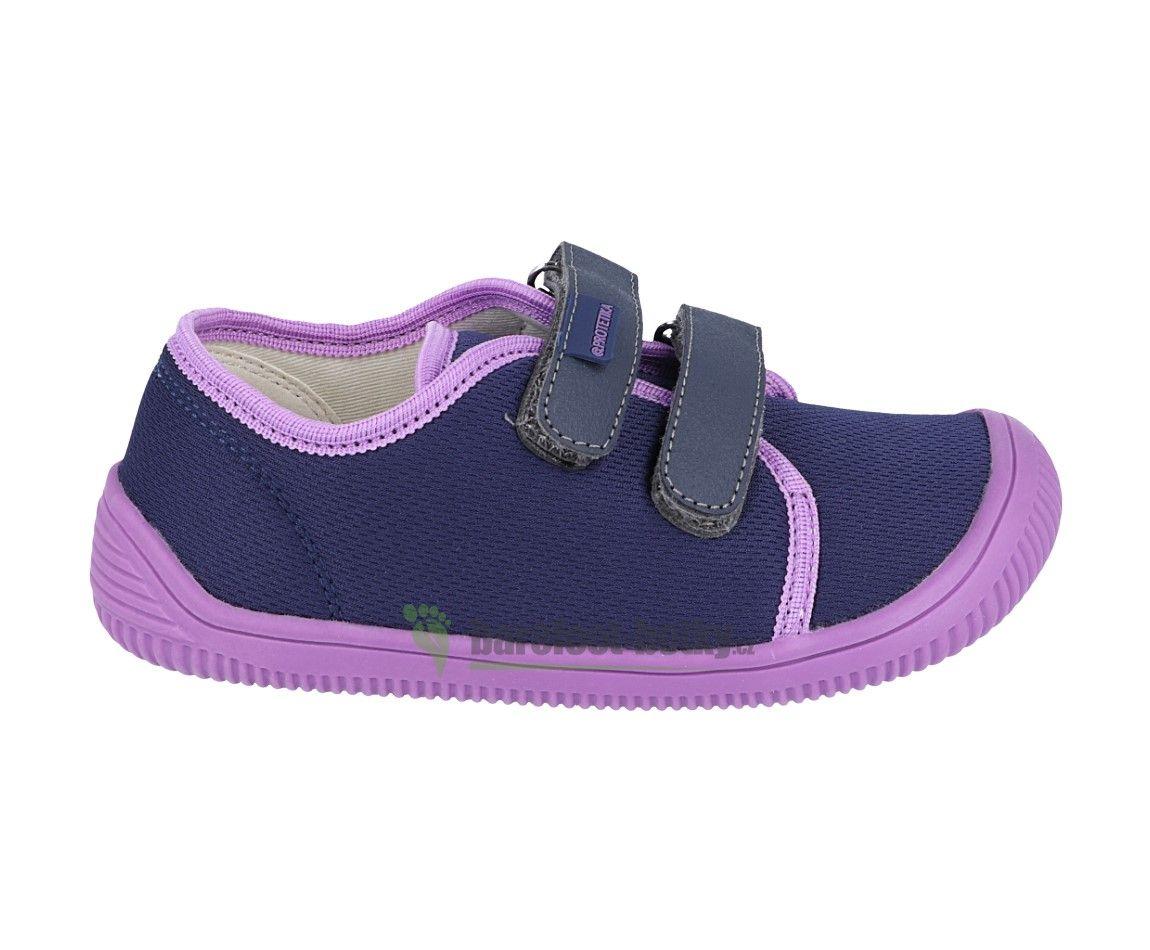Barefoot Protetika Alix lila - textilní tenisky bosá