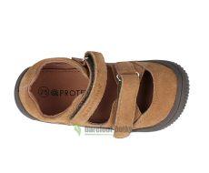 Barefoot Protetika barefoot sandálky Berg brown bosá