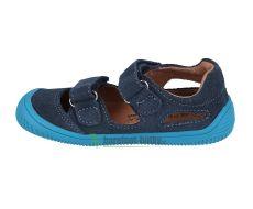Barefoot Protetika barefoot sandálky Berg navy bosá
