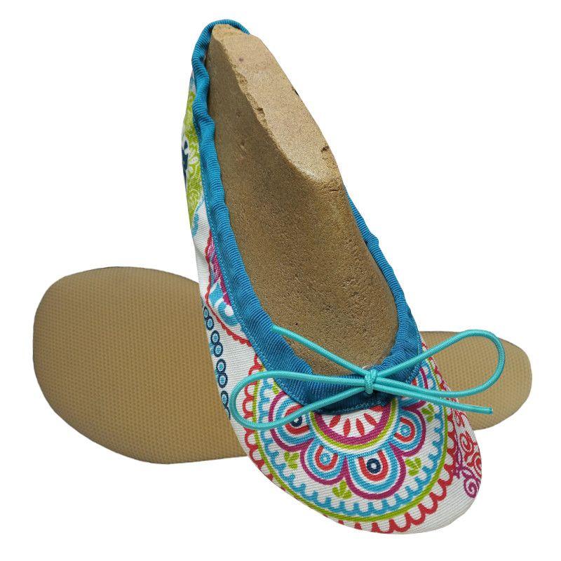 Barefoot Wins cvičky Gábi - textilní mandala bosá