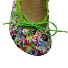 Barefoot Wins gymnastické barefoot cvičky Gábi textilní louka bosá