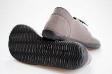 Barefoot Barefoot polobotky Ahinsa Shoes Bindu 2 Bare šedá bosá
