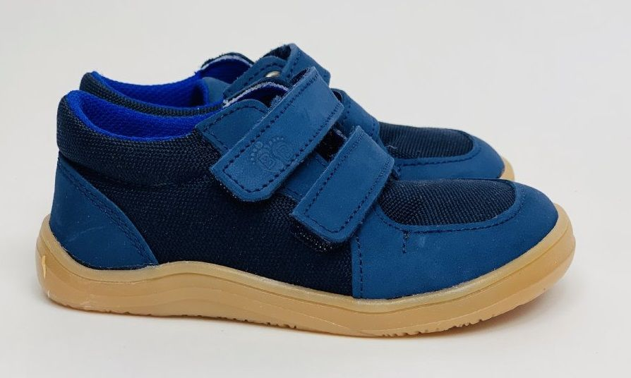 Barefoot Baby bare shoes Febo Sneakers Navy/Resina bosá