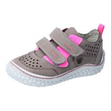 Barefoot boty RICOSTA Chapp graphit/pink 17207-461