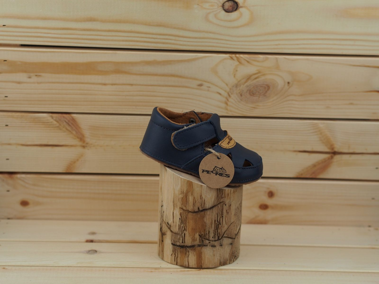 Barefoot Bosé Pegresky sandály 1096 modrá bosá