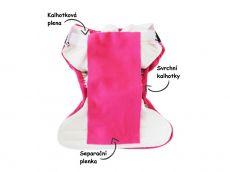 Barefoot BREBERKY - fleecová separační plenka bosá
