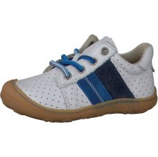 Celoroční barefoot boty RICOSTA Rocky weis/azur 12227-811