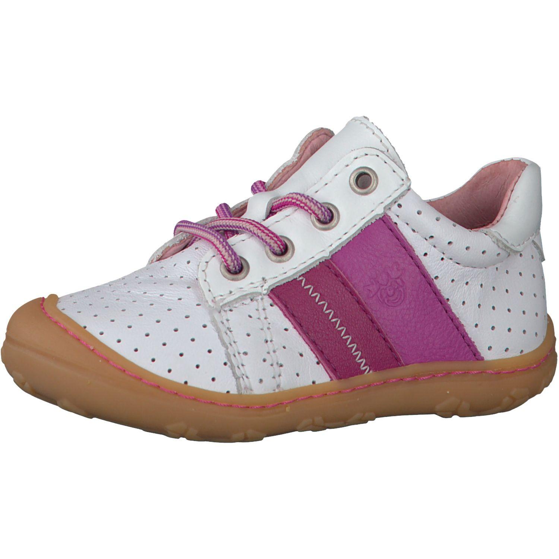 Barefoot Celoroční barefoot boty RICOSTA Rocky weis/pop 12227-821 bosá