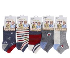 Chlapecké kotníčkové ponožky
