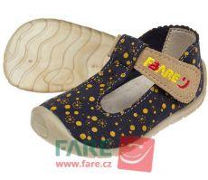 Barefoot FARE BARE dětské sandály 5062201 bosá
