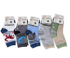 Protiskluzové slabé ponožky AMZF - pro kluky