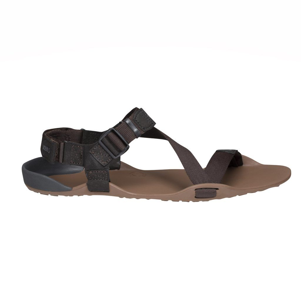 Barefoot Sandále XERO SHOES Z-TREK M Mocha Earth bosá