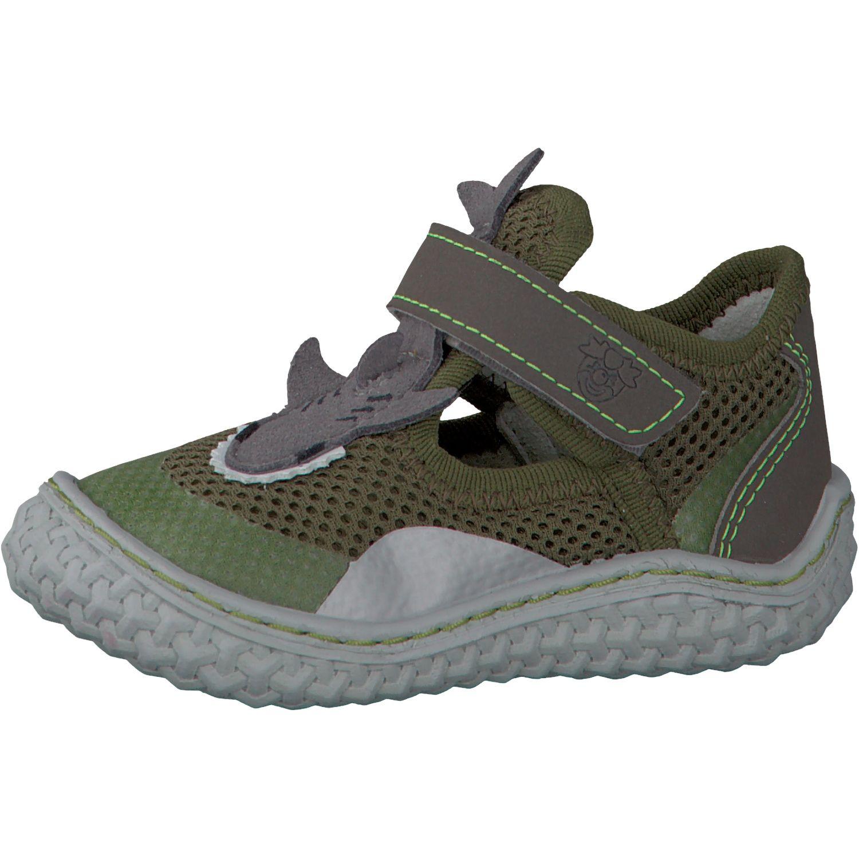 Barefoot Barefoot sandálky RICOSTA Flipp oliv 17203-581 bosá