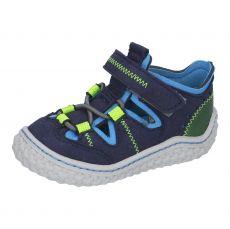 Barefoot sandálky RICOSTA Jerry ozean 17205-171