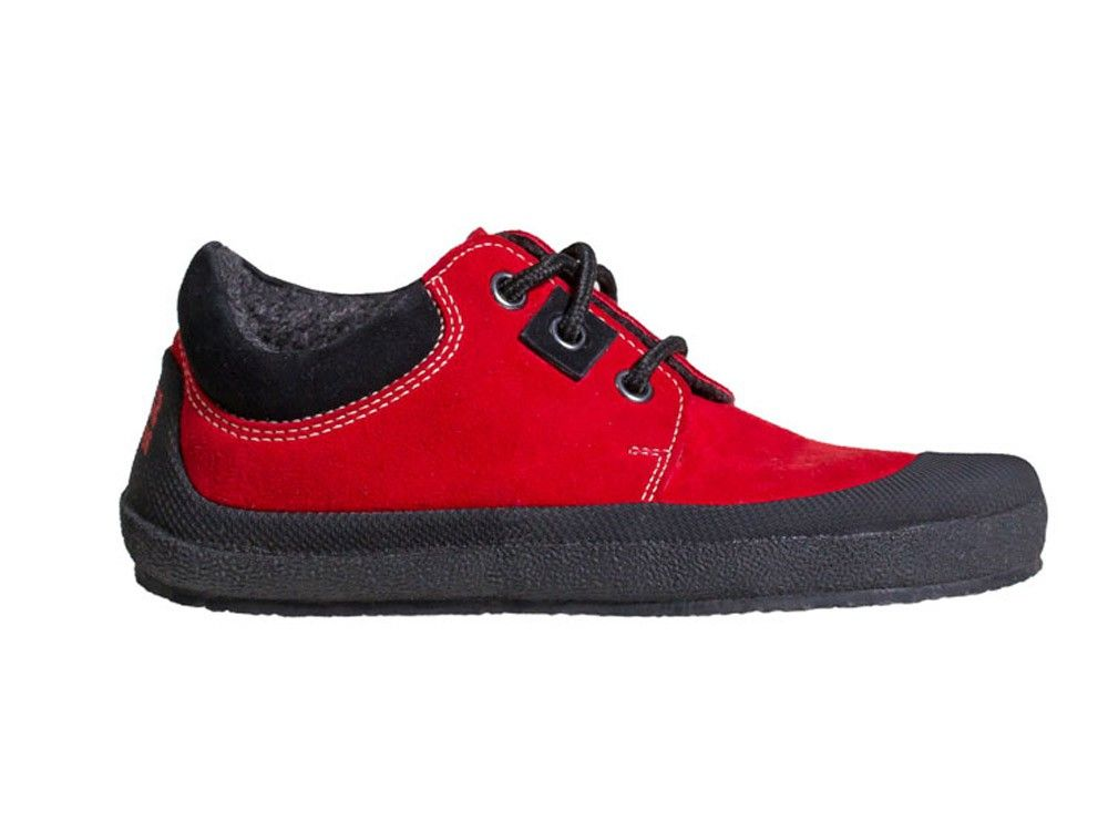 Barefoot Sole runner Pan red/black bosá